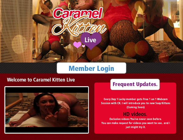 Caramelkittenlive With AOL Account