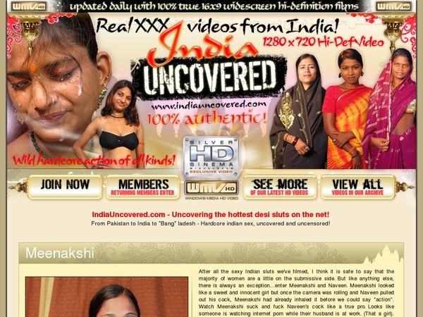 Get Free India Uncovered Passwords