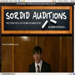 New Sordid Auditions V2 Account