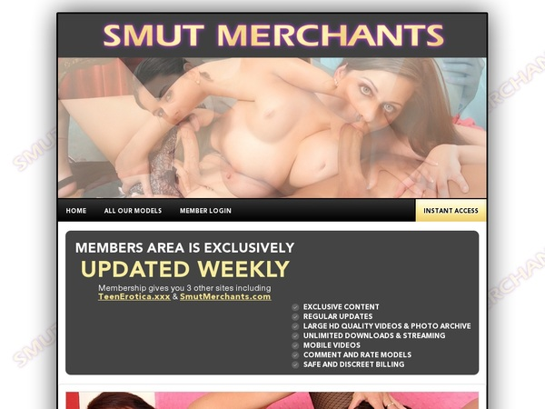 Smut Merchants Mobile Home Page