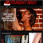 Straight Bro Sign Up Page