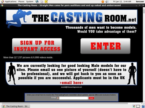 The Casting Room Payment