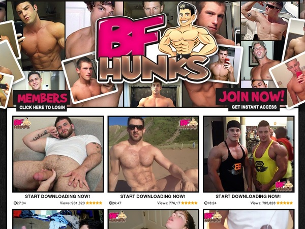 BF Hunks With Pay Pal