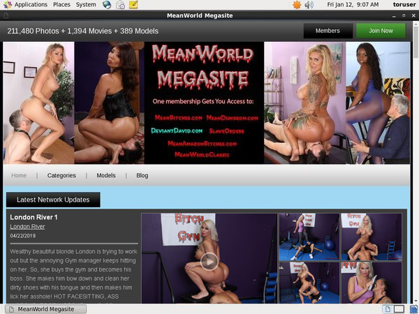 Mean World With IBAN / BIC Code