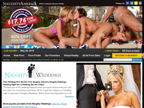 Free Account For Naughty Weddings