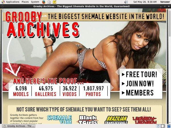 Register The Grooby Archives