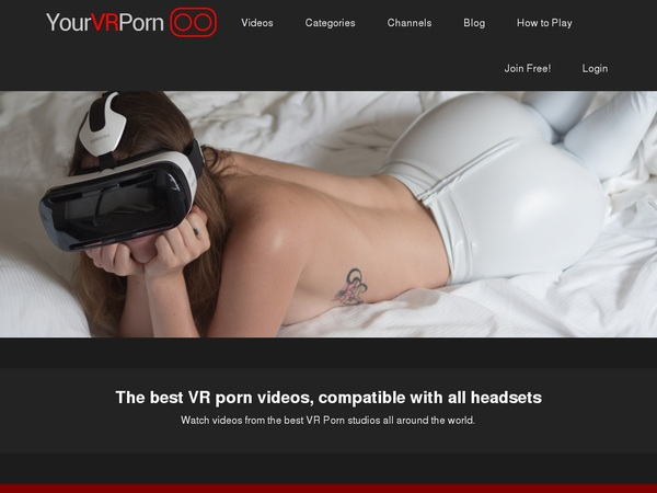 Your VR Porn With Mastercard