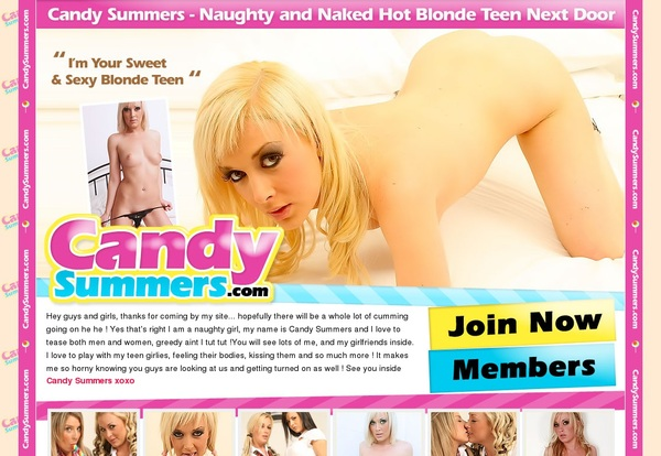 Working Candy Summers Pass