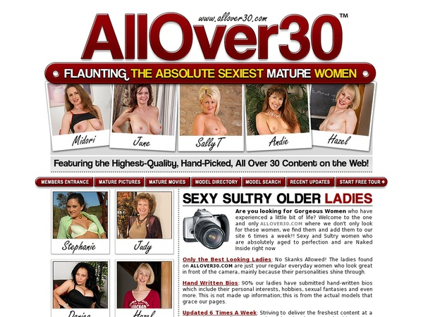 All Over 30 Original Limited Promotion