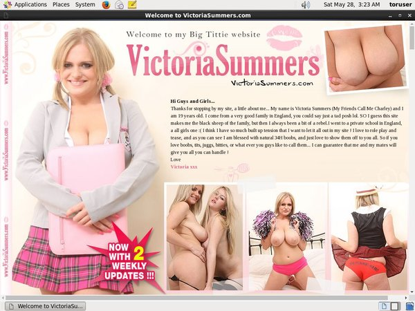 Free Account For Victoriasummers